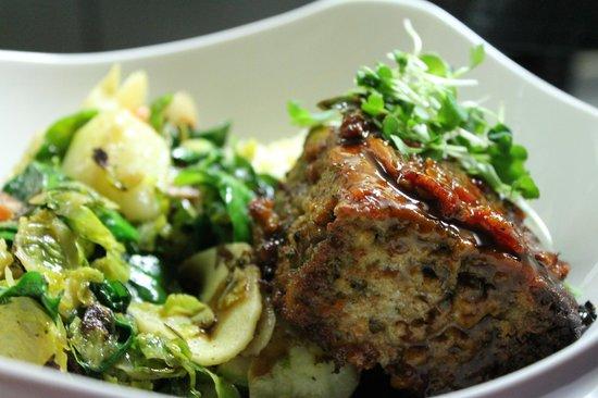 Joy Bistro: veal meatloaf