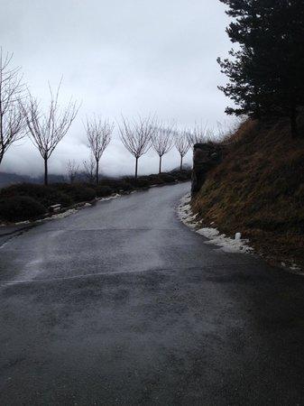 Cal Bou: Vista da estrada