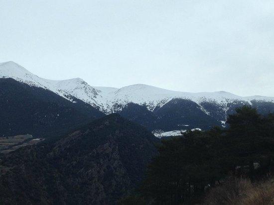 Cal Bou: Vista da área das montanhas