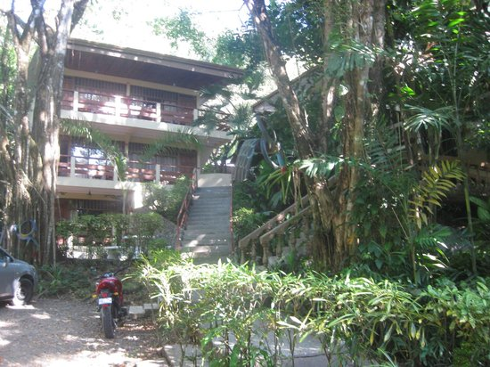 Jungle Beach Hotel at Manuel Antonio : our room on second floor