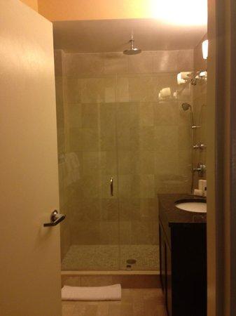 Hotel Metro: Shower!