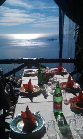 La Tagliata: tavola con vista