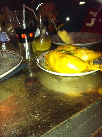 Villa Marrakech: Cuisse de poulet