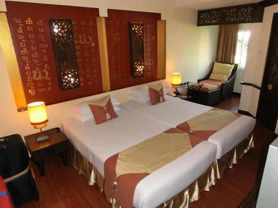 Chiang Mai Gate Hotel: Een kamer