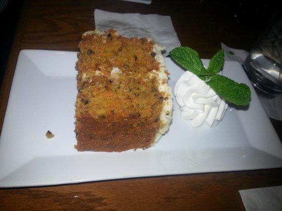 Doc Ford's Rum Bar & Grille Ft. Myers Beach: Drunken Parrot Carrot Cake