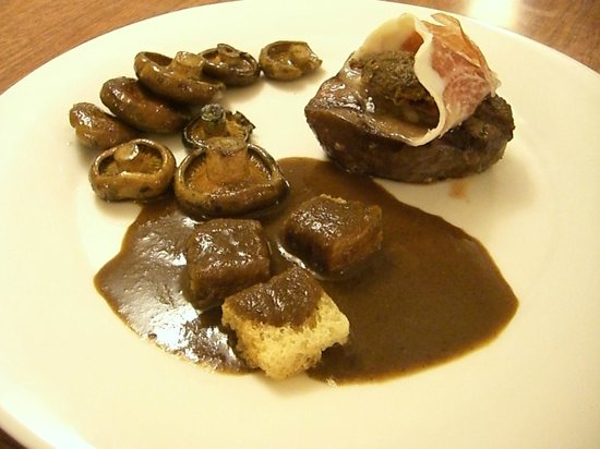 Gastrobar La Taverna: Segundo plato menú