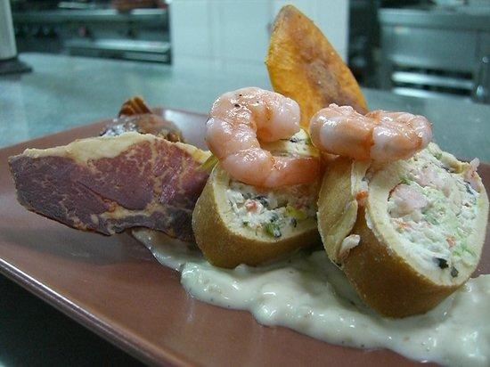 Gastrobar La Taverna: Primer plato menú