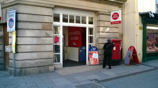 Bath Postal Museum: Way in - but you have to be close to find it