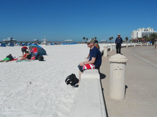 Clearwater Beach : Me on beach