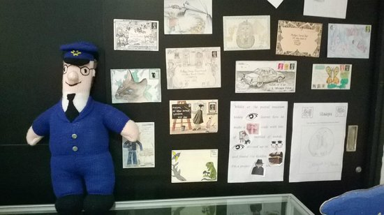 Bath Postal Museum: Postman Pat with various childrens poems