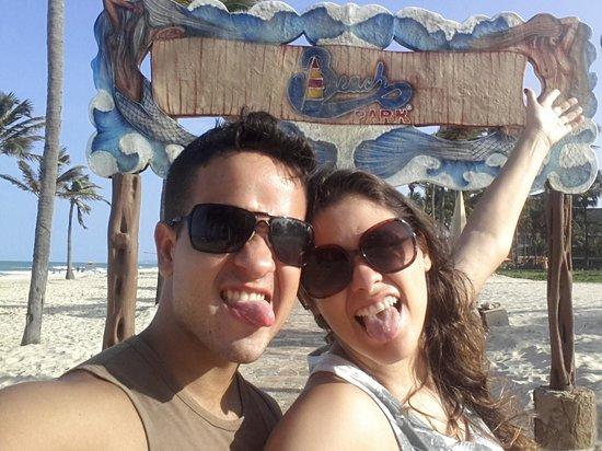 Oceani Beach Park Hotel: beach park.