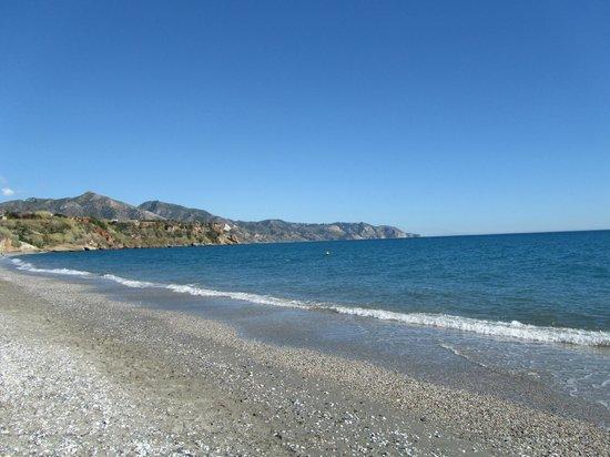 Playa de Burriana: je zou kunnen zeggen de baai van burriana
