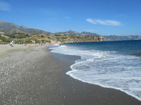 Playa de Burriana: strand richting oosten