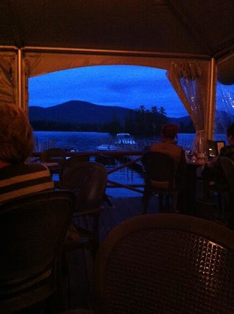 Algonquin Restaurant: View from dinner