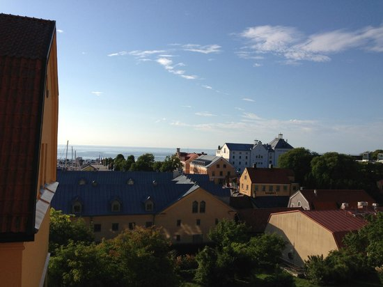 Clarion Hotel Wisby: View from Superior Room