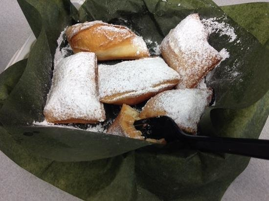 Irie's Island Food: Beignets at Irie's