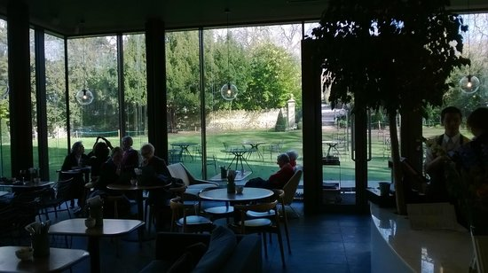 Holburne Museum: view from inside the cafe