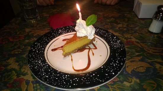 The Depot Restaurant : Dessert, the best cheese cake I have had in a long time!