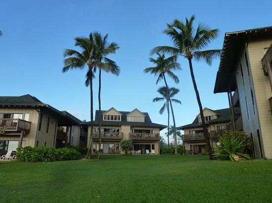 Castle Kaha Lani: les bungalows au bord de la plage