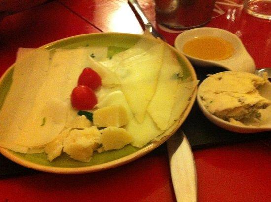 Perditempo : Assiette de fromages