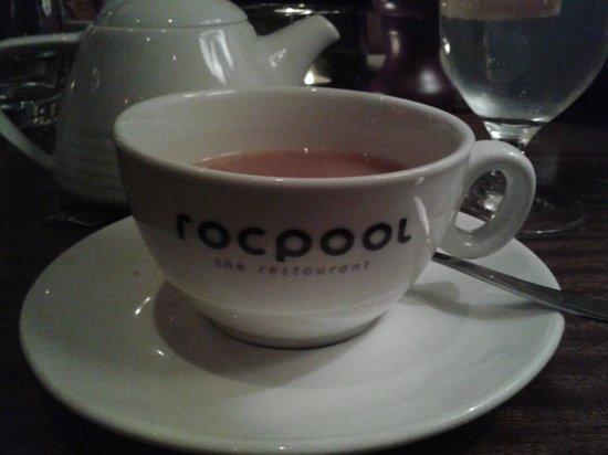 Rocpool Restaurant: Nice cuppa to finish!