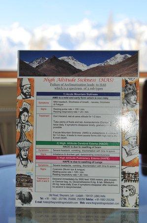 The Grand Dragon Ladakh: Altitude acclimatisation information