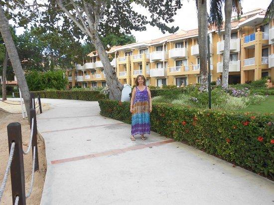Viva Wyndham Dominicus Palace: Caminando por el hotel
