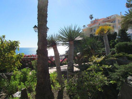 Playa de Capistrano: de tuin halverwege
