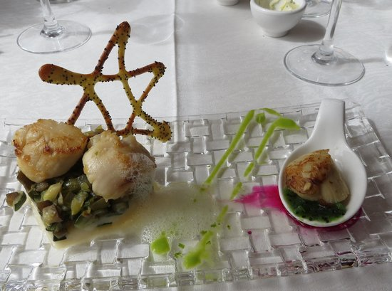 Restaurante Do Forte: Scallops Starter