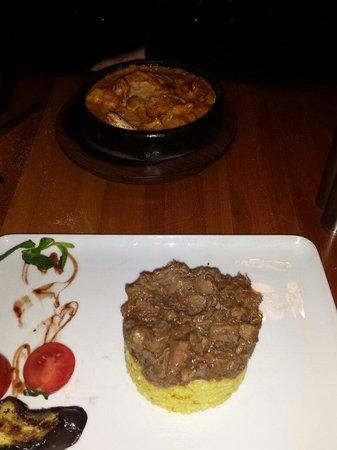 Cheers Soul Kitchen: Mesopotamia lamb y sea bass cacerole