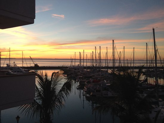 Hotel Marina: Sunset view