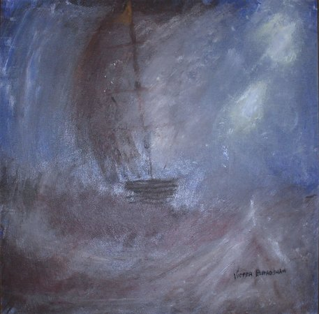 Out of The Blue: Victor Bradshaw Art
