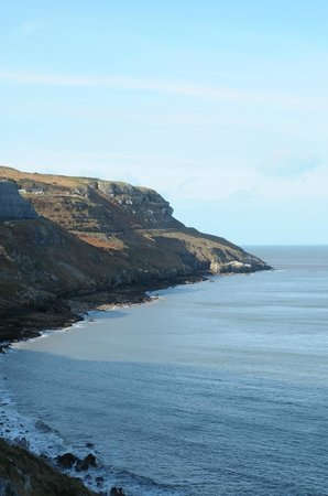 Great Orme: winding toll road