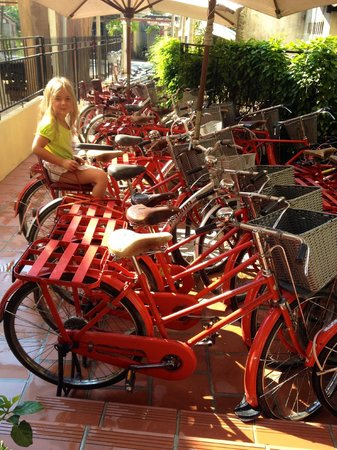 La Siesta Hoi An Resort & Spa: Free bicycles