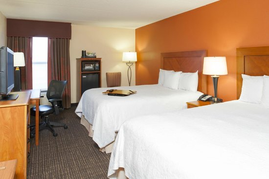 Hampton Inn Muskegon: Standard Double Queen Room