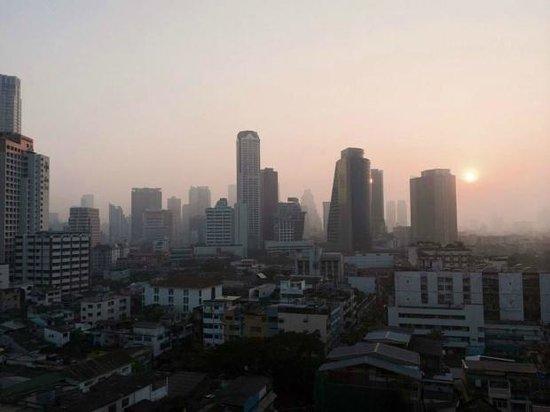 Centre Point Hotel Silom: widok o poranku