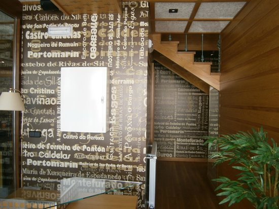 Hotel Casa De Caldelas: Recepción