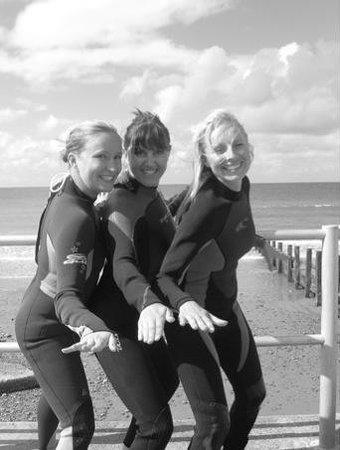 Aber Adventures: Surfer girls