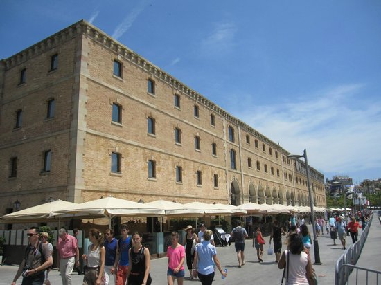 Museu d'Història de Catalunya: Vista exterior.
