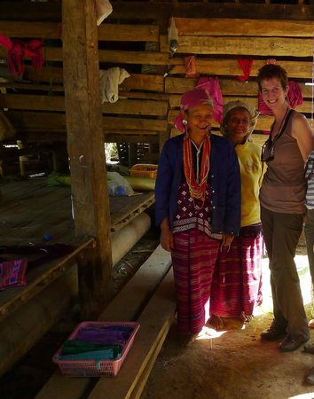 Next Step Thailand (Travel with Joe) Cycling and Hiking Private Day Tours : Karen women
