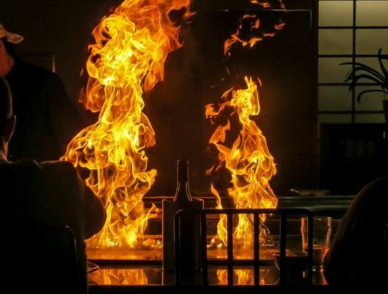 Wasabi Tepanyaki: If you cant stand the heat........