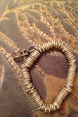Hilton Glasgow: My bracelet after the spa