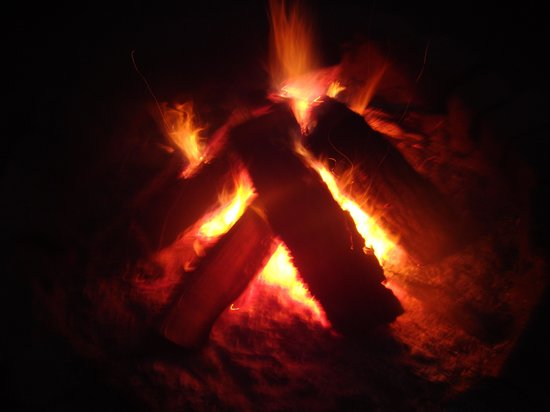 Hickory Hideaway: Story telling abounds around the campfire