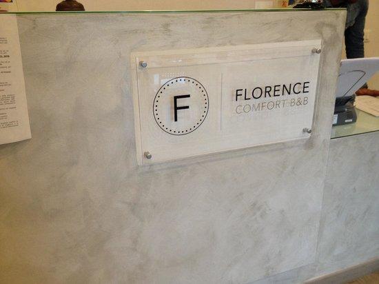 Florence Comfort B&B : Hall - Accoglienza al b&b