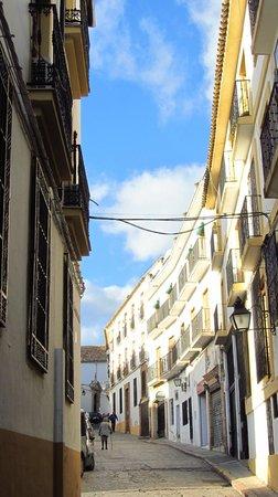 Hotel Plateros: улица расположения отеля Plateros
