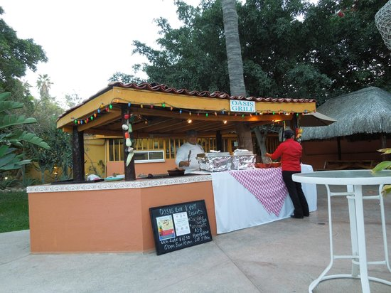 Marina Sol Resort: The Oasis Grill