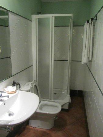 Hotel Plateros: душ+туалет