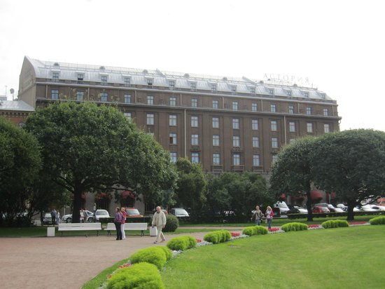 Astoria Hotel: Vista del hotel.