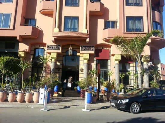 Amani Hôtel Appart : Hotelansicht
