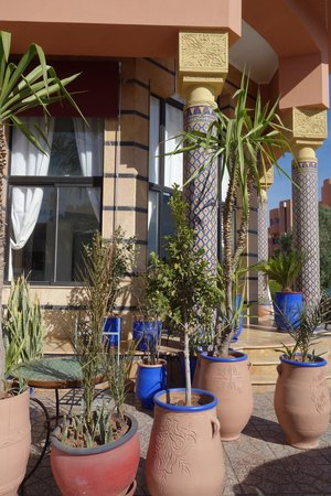 Amani Hôtel Appart : Eingangsbereich